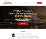 ADFIAP 40th Annual Meeting website