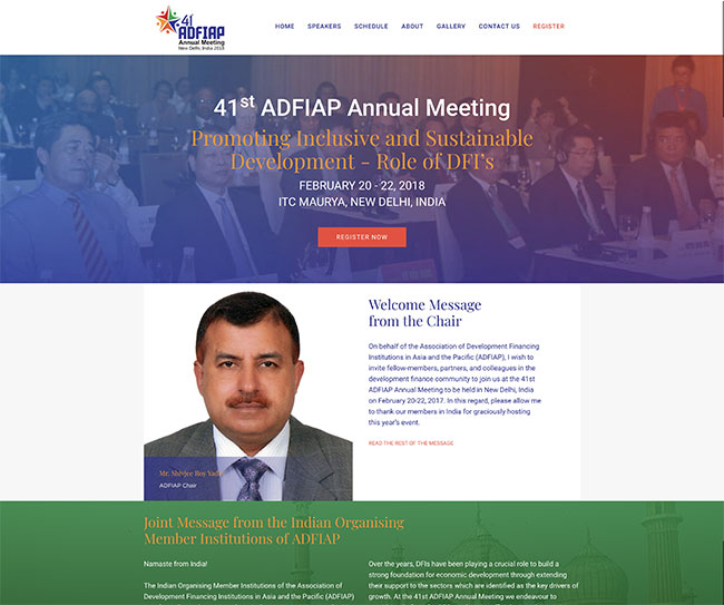Annual Meeting website
